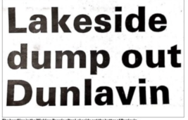 Familiar Names Mentioned in the Wicklow People –1990 Senior Championship Lakeside vs Dunlavin